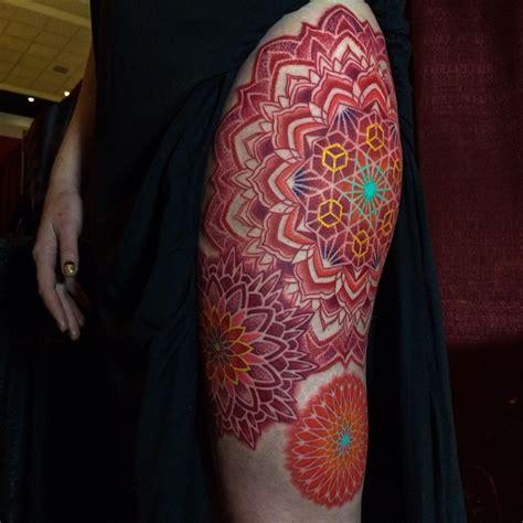 geometric tattoo fail color corey divine