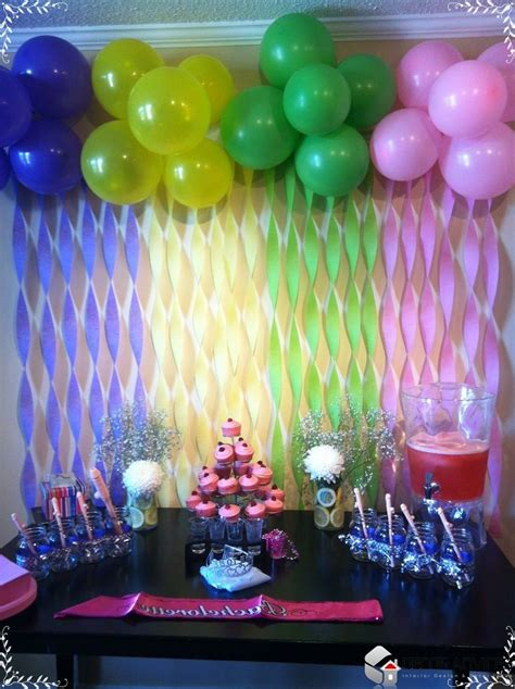 Home Made Birthday Decorations | 17 best ideas about streamer decorations on pinterest