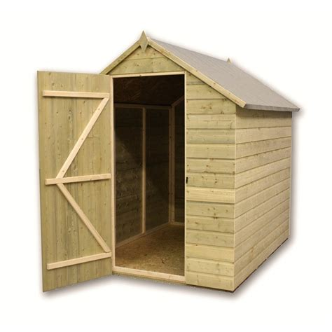 Shed 10 X 5 by 10 X 5 Pressure Treated Apex Shed