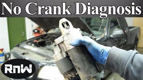 diagnose   crank  start issue