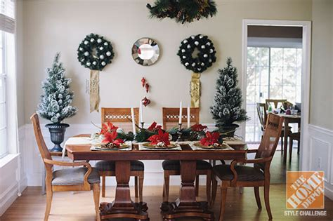 dining room table christmas decoration ideas christmas decorating ideas for the dining room