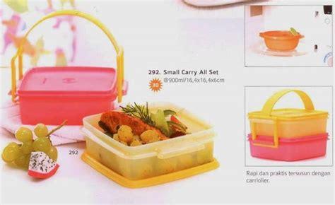 Tupperware Rantang Murah Carry All Set 4 tupperware small carry all set 2 tupperware