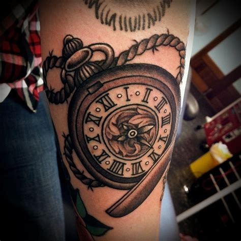pocket watch tattoos for men pocket s quot es