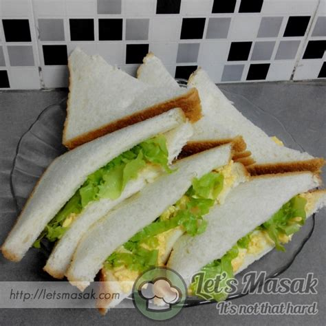 printable sandwich recipes print sandwich telur hancur recipe letsmasak