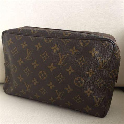 Tas Louis Vuittonn Montaigne 8485 Ff louis vuitton trousse make up toilet tas grote maat gm catawiki