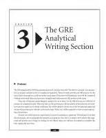 writing section gre t 224 i liệu the gre analytical writing measure docx t 224 i liệu