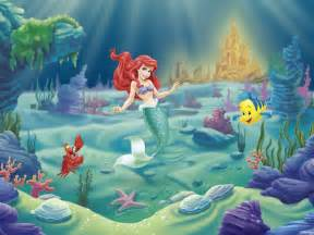 How To Do Wall Painting Designs Yourself disney princess ariel wall mural amp photo wallpaper