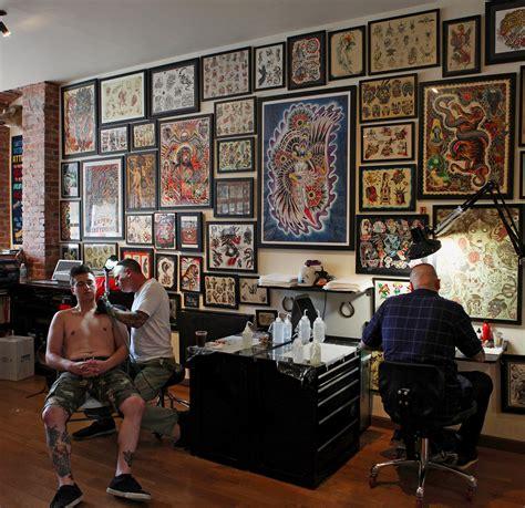 brooklyn tattoo parlor popular  foreigners nytimescom
