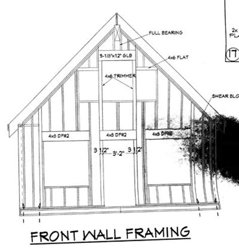 Gable End Wall Framing Amazing 10 Wall Jacks For Framing Design Ideas Of Help In