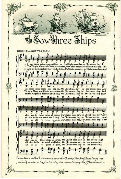 printable vintage christmas sheet music pin by bev on christmas pinterest