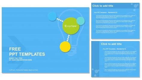 Colorful Modern Circles Powerpoint Templates Free Modern Powerpoint Templates