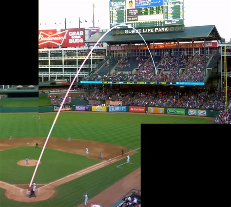 21 year rangers phenom hits 430 foot home run in his