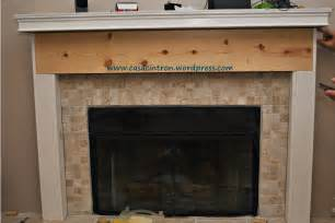 how to build a fireplace mantle surround phase 2