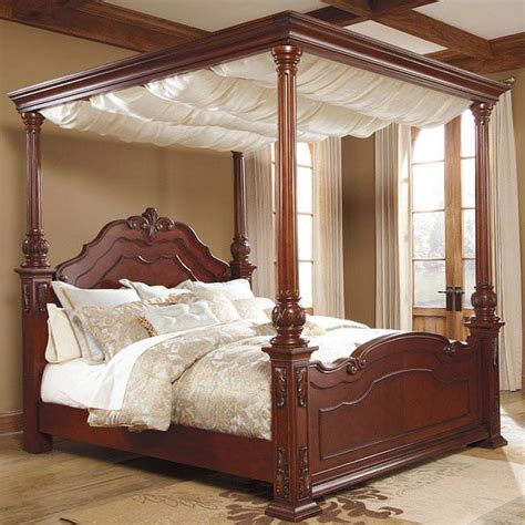ashley furniture canopy bed ashley furniture canopy bed image andreas king bed