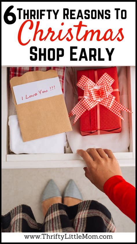 Get An Early Start On Your Shopping by 6 Thrifty Reasons To Shop Early 187 Thrifty