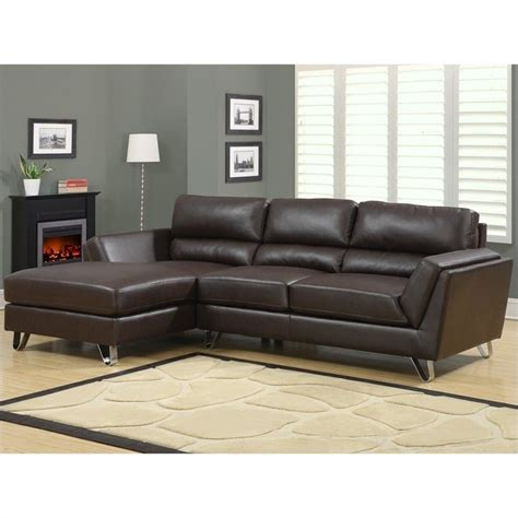 leather lounger sofa leather sofa lounger in brown i8210br