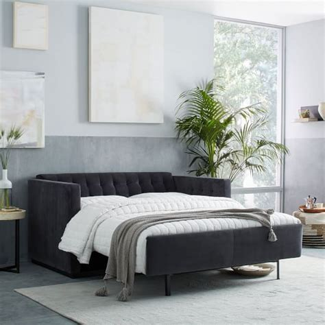 West Elm Sofa Bed by 1000 Ideas About Sectional Sleeper Sofa On