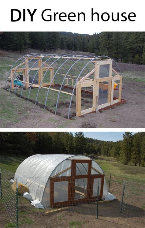 diy house 25 best diy green house ideas and for 2017