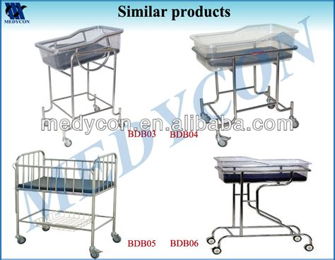 adjustable height hospital baby crib bed view adjustable