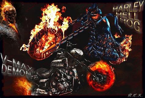 wallpaper bergerak ghost rider ghost rider bike wallpapers wallpaper cave