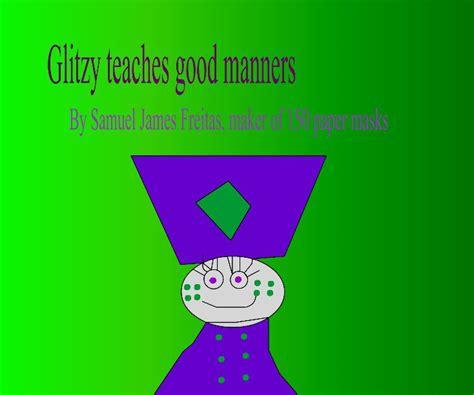 libro manners glitzy teaches good manners de samuel freitas libros de blurb espa 241 a