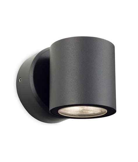 black exterior wall lights led graphite exterior wall light