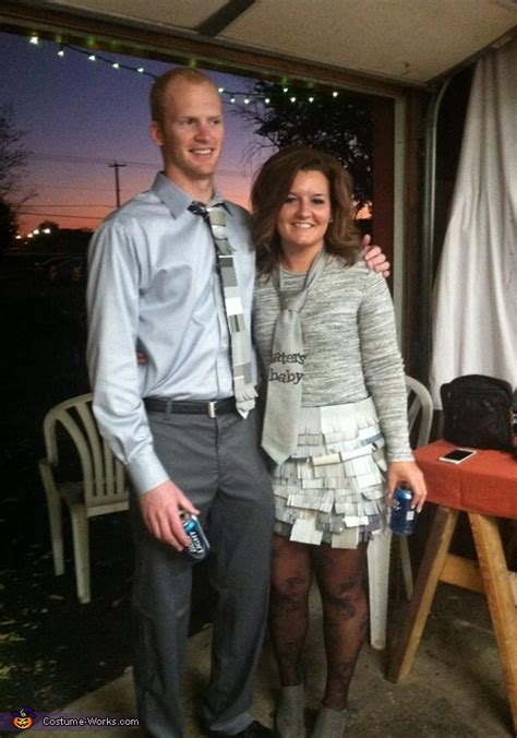 shades  grey couple costume