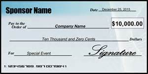 large cheques for presentation template charity donation presentation check signazon