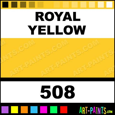 royal yellow watercolor paints 508 royal yellow paint royal yellow color mir