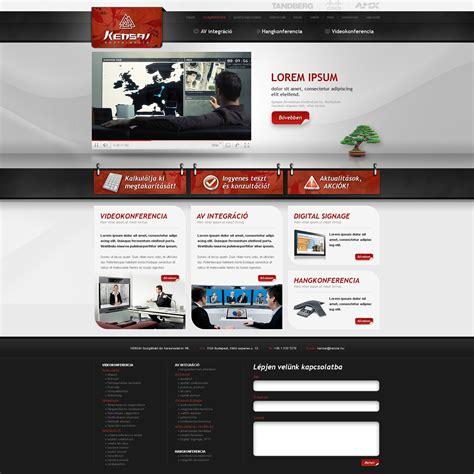 homepage design kensai web design by victorydesign on deviantart