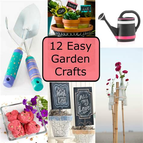 easy garden crafts 12 easy garden crafts favecrafts