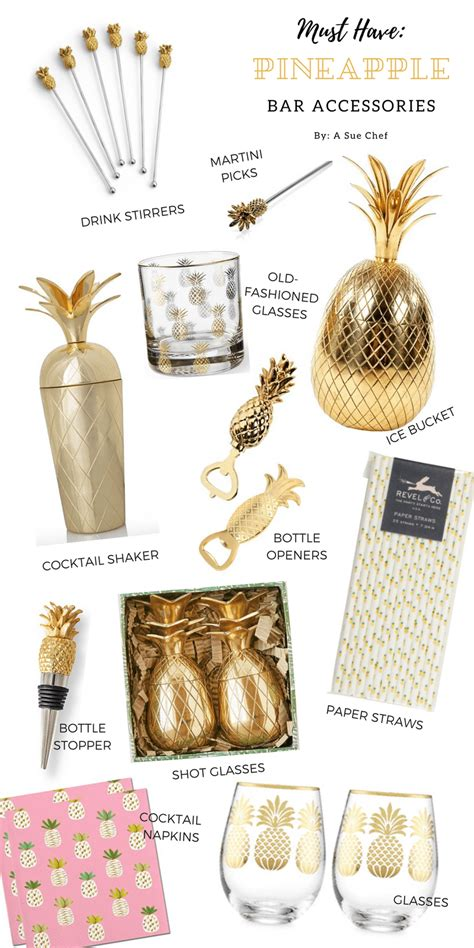 must pineapple bar accessories