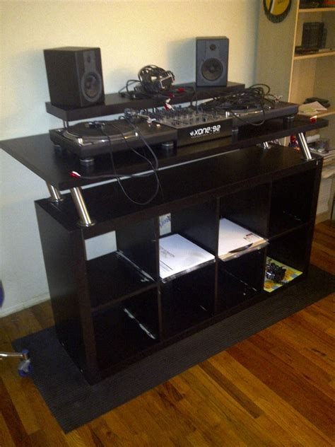 Build Your Own Studio Desk by How To Create A Professional Dj Booth From Parts