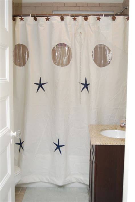 what is sailcloth curtains recycled sailcloth shower curtain with graphics remodelista