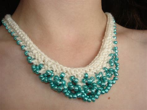 classic designs of bead crochet necklace adworks pk