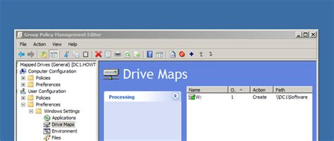 gpo mapped drives it how to map network drives on windows clients via