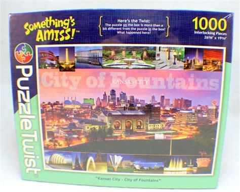 1000 piece jigsaw puzzle twist something s amis kansas
