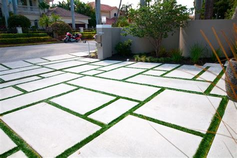 large concrete pavers large concrete pavers driveway with grass search house large concrete