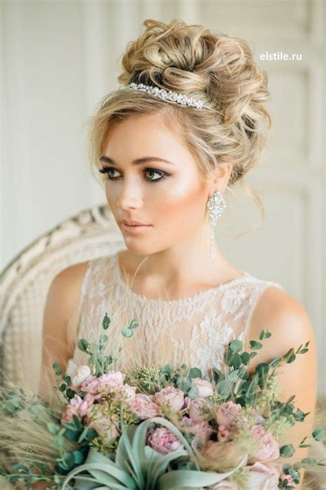 Wedding Hairstyles Updos With Tiara by Bridal Hairstyles With Pieces Headbands Tiaras Hair And
