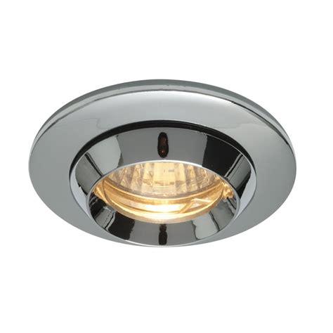 Bathroom Recessed Ceiling Lights Bathroom Recessed Ceiling Lights Endon Lighting Enluce Single Light Halogen Recessed Bathroom