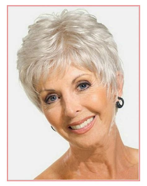 hair styles for older women with thin hair and widow s peaks most popular older womens short haircuts for fine hair