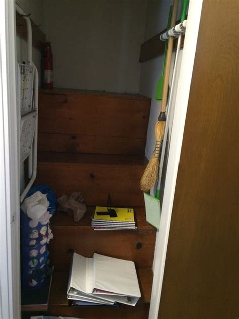 attic access closet transformation ideas