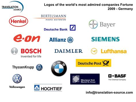 best electronics company german logos included in fortune s 2009 the worlds most