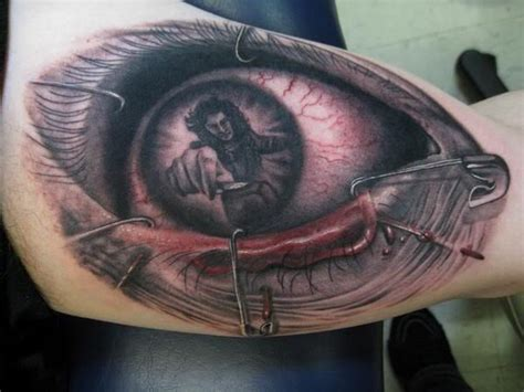 eye tattoo with reflection eye tattoo the reflection says it all ink i like