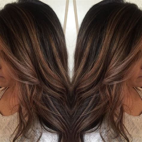 foil highlights for brown hair 1000 ideas about highlights for dark hair on pinterest