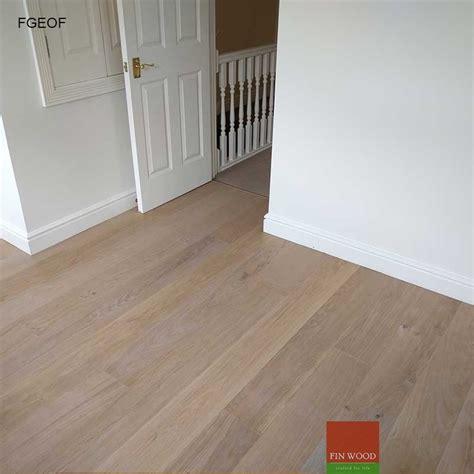 fitting grey engineered oak flooring