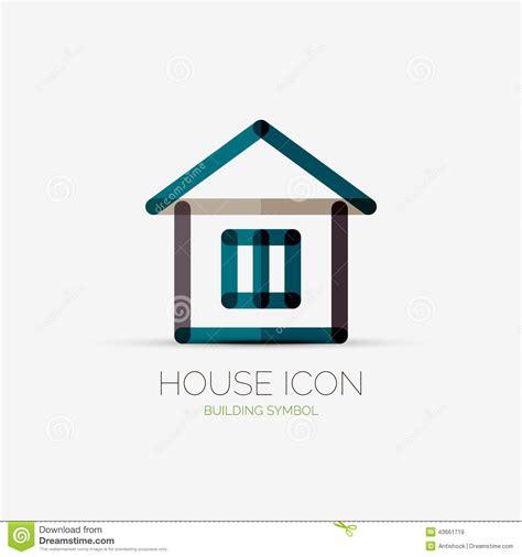 house logo design vector house icon company logo business concept stock vector