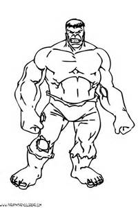 dibujos colorear hulk la 010