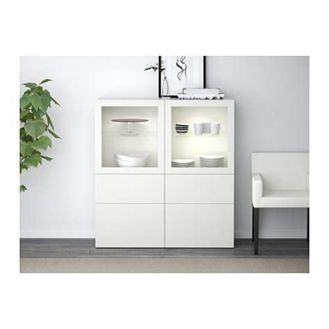 Besta Ikea Vitrine by Best 197 Storage Combination W Glass Doors Lappviken Sindvik