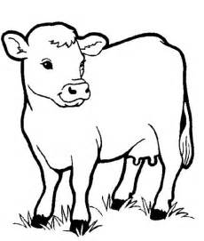 Free coloring pages cartoon farm animal coloring pages for kids